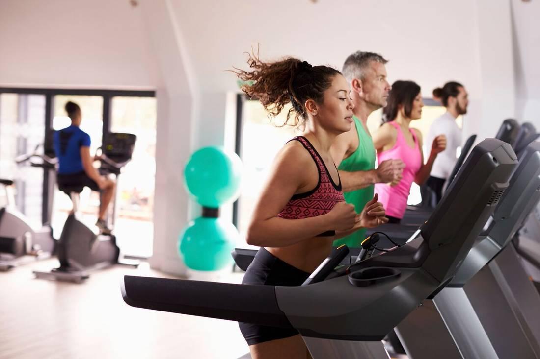 Быстро сбросить вес в спортзале
