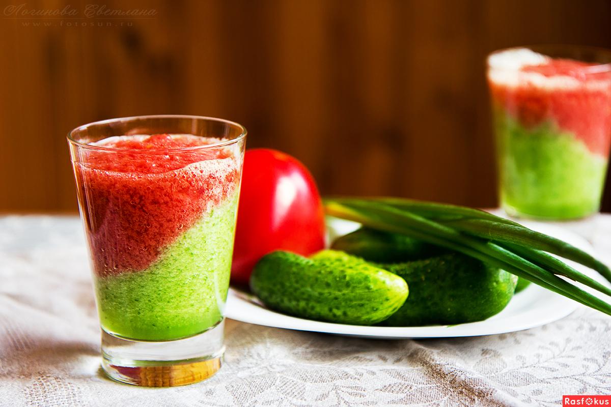 Овощные смузи в блендере рецепты с фото
