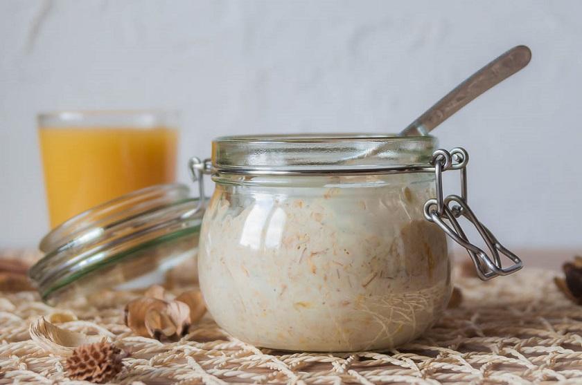 Овсянка с ряженкой - рецепт пошаговый с фото