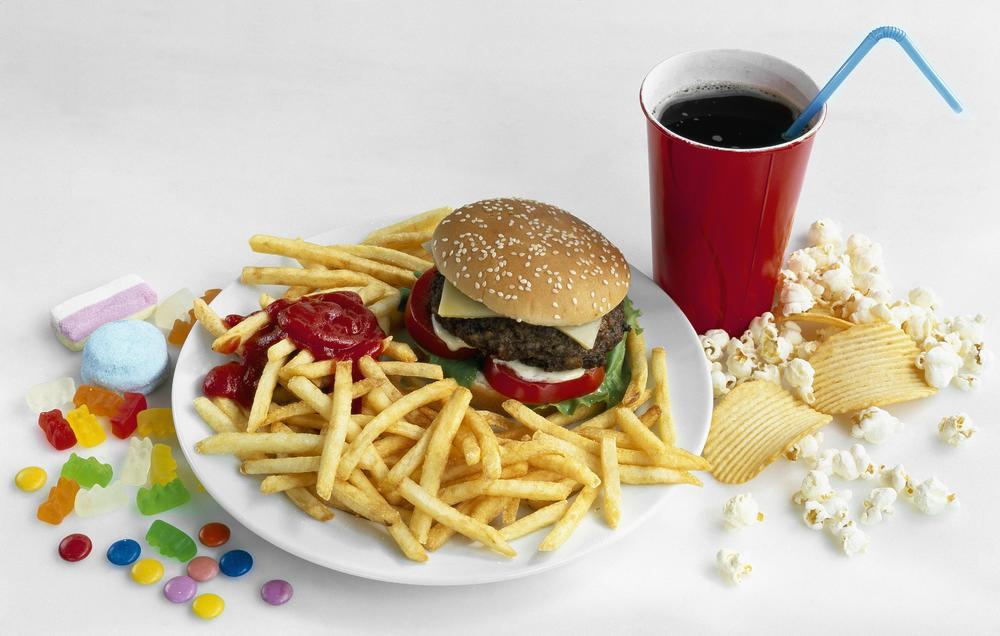 Картинки вредной еды