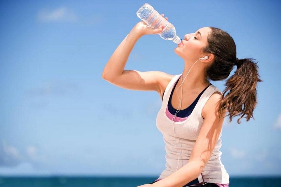 схема питья воды по часам для похудения