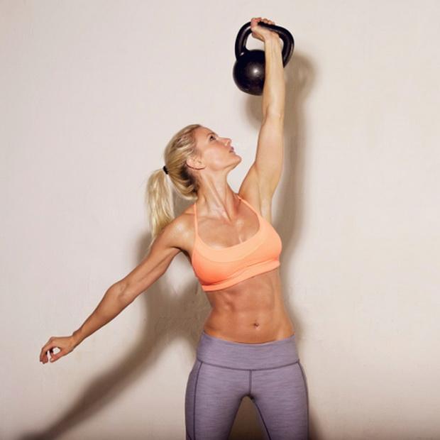 Для с гири упражнения похудения гирями