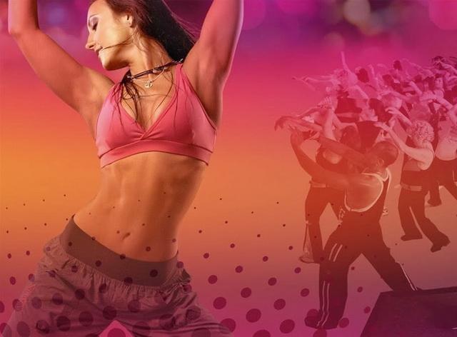 зумба фитнес тренировка