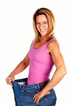 От резкого похудения
