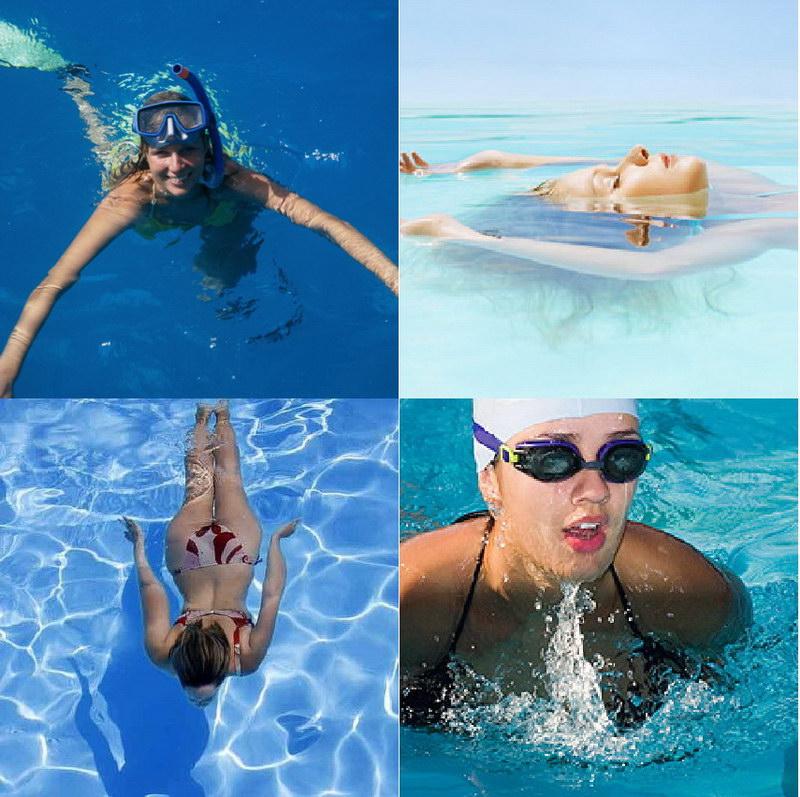 Плавай вместо бега: как работать над фигурой в бассейне? | журнал.