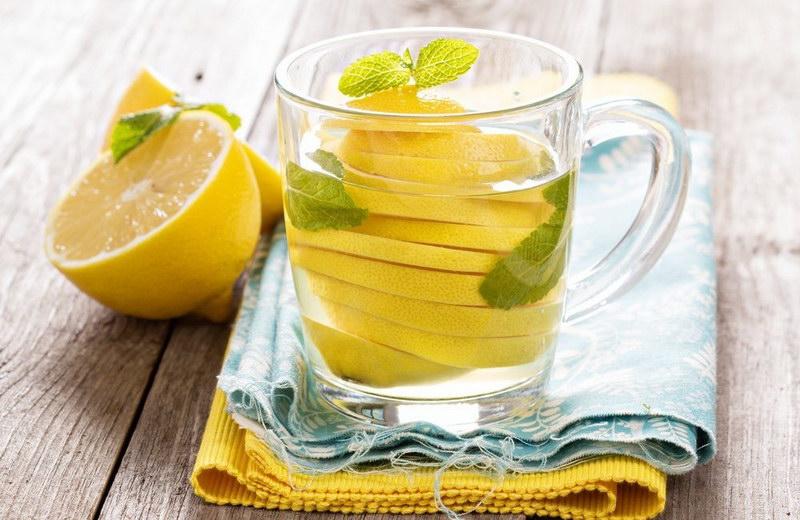 Лимон во время диеты