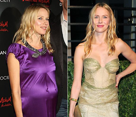 Как худеют звезды после родов