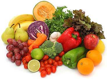 5 порций овощей и фруктов