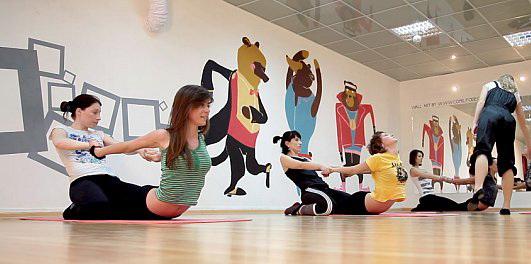 Стретчинг – упражнения