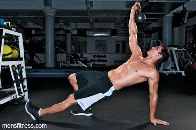тренировка для женщин в мужском стиле