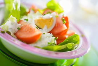 как приготовить творожную заправку для салатов