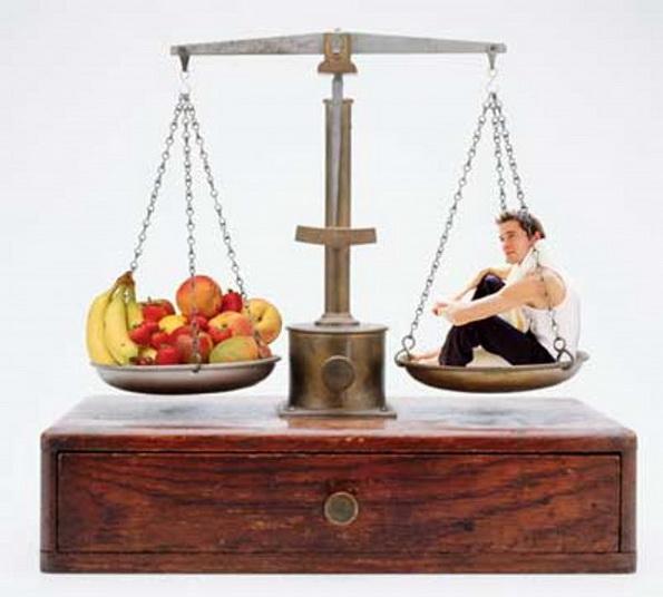 как считать калории чтобы похудеть таблица меню