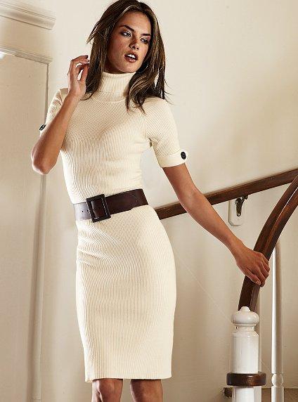 Модели вязаных платьев фото