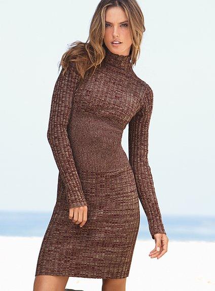 Вязаное платье модели выкройки