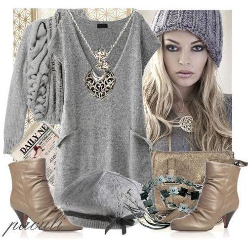 одежда серого цвета