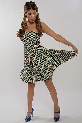 платье эластичный трикотаж