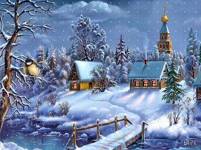 Гадание в ночь в рождество