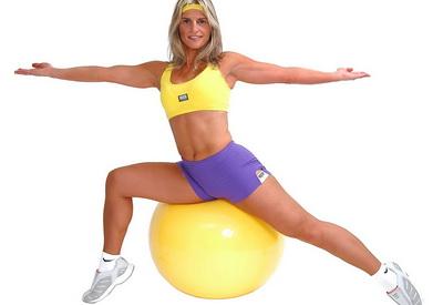 Фитбол Упражнения во картинках