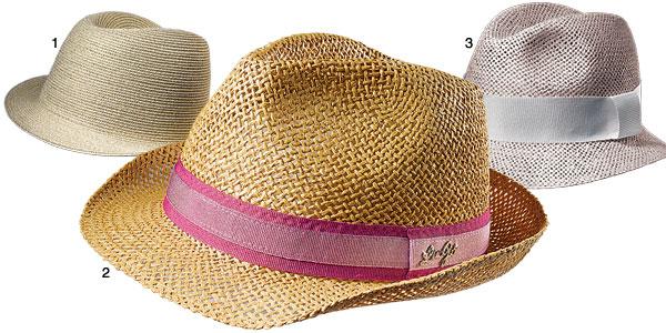 тренды лета 09 - плетеные шляпы