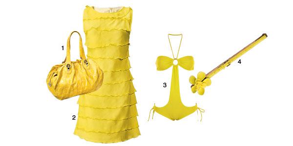 тренд лета - желтые вещи