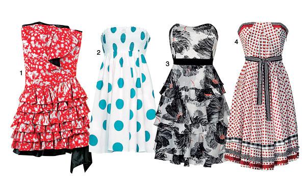 тренд этого лета - платья-бюстье