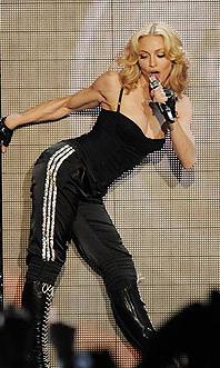 Мадонна и ее секреты стройности